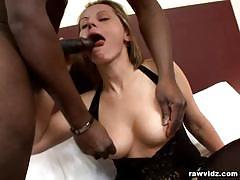Magda first interracial bang