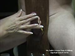 Extreme sensual cbttease with ms. sadie
