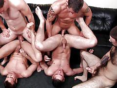 tattoo, handjob, anal, facial, big cock, cumshot, muscled, gay blowjob, gay orgy, jizz orgy, men, jimmy johnson, connor patricks, josh long, duncan black, cooper reed