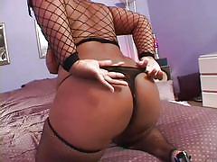 milf, curvy, ebony, rimjob, stockings, fishnet, blowjob, big butt, black hair, pussy rubbing, her thick black ass, shadow cat, devlin weed