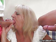Granny wants all the cocks for herself