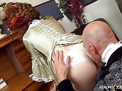 Victorian redhead cheats her husband like a whore