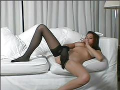 Sexy games in pantyhose