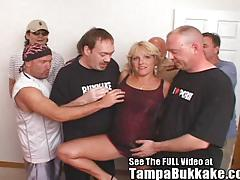 Mature jackie owned by many cocks