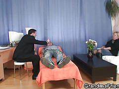 Sexual psychotherapy with granny