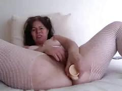 German milf masturbating on skype for me