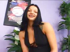 Bella donna threesome interracial