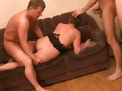 Slut-mom & 4 hot guys