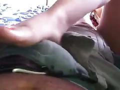 Latina footjob (climax at the end)