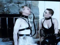 Male and female stooges to serve this mistress