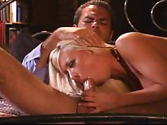 Gorgeous big tits stripper cock riding late night fun