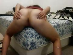 Girl 249 sometimes humps her bed