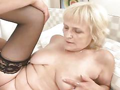 blonde, cumshot, stockings, blowjob, grandma, riding cock, old, granny ghetto, fame digital