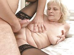 Jizz on grandma's belly @ i was 18 fifty years ago #08
