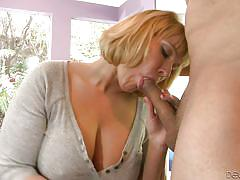 blonde, mature, blowjob, busty, on knees, devils film, fame digital, mellanie monroe