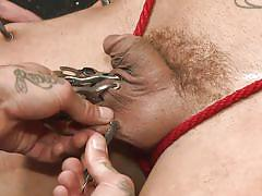 gang bang, humiliation, gay blowjob, gay anal, in public, latex mask, metal clamps, rope bondage, bound in public, kink men, jessie colter, seven dixon, brock avery