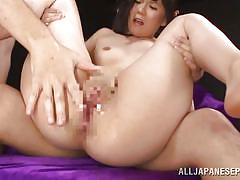young, threesome, blowjob, fingering, censored, pussy eating, black hair, shaved pussy, tit grabbing, jp shavers, all japanese pass, riko ichikawa