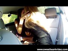 Big-tit blonde milf julia & teen lesbian fingering