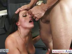 big ass, babe, big tits, brunette, hardcore, pussy, office sex,