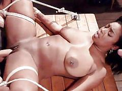 Chocolate delight in the dungeon sex