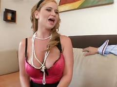 Big naturals mommy - violet addamson fucked!