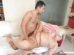 Bbw slut sara star gets banged very hard