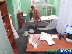 Fake hospital hot italian babe with big tits