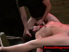 Tied up bdsm bondage sub annihilatedreed[22]