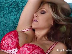 Julia ann plays gives trinity hitachi love!
