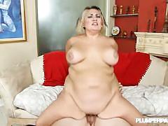Sinful celeste flaunts her massive tits