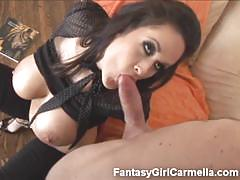 Live your fantasy with sexy carmella bing