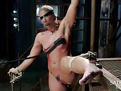 Tied hard and tortured harder