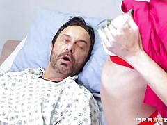 handjob, nurse, doctor, big boobs, blonde milf, cock sucking, balls licking, sex for money, at work, doctor adventures, brazzers network, shawna lenee, keiran lee