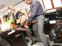 Sexy secretary donna bell fucking her boss