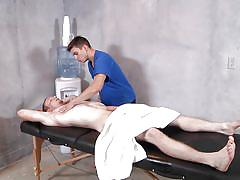 Anthony and johnny fuck each other in the massage room