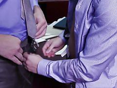 kissing, gay blowjob, gay anal, gay, gay office sex, the gay office, men, zachary perry, colby jansen