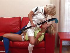 blonde, lesbians, spanking, babe, mature, domination, old and young, stick, baseball bat, moms hardcore, mature nl, hannah c., jane xx