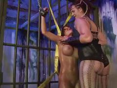 Amazon huxly cages & fucks purple haze lesdom tickle bound