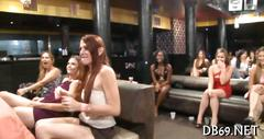 Bitches watching cowboy strip