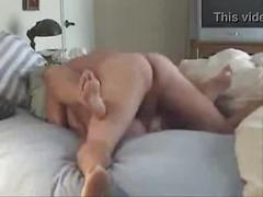 Sexy dirty talking cheating wife getting fucked in bed