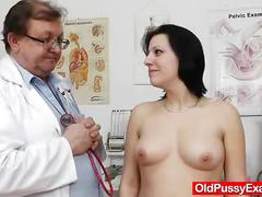 pussy, uniform, vagina, doctor, speculum, hospital, internal, enema, closeups, check, cervix