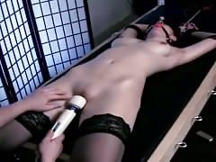 Teen tied vibrator orgasm torture