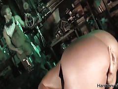 threesome, bdsm, big tits, big cock, deepthroat, cumshot, toys, blowjob, harmony vision, gianna michaels