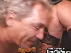 Slut wife visits fucked up electro dr!