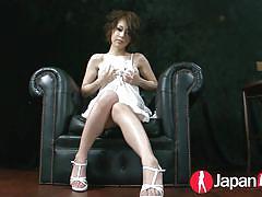 teen, orgasm, japanese, asian, masturbation, toys, lingerie, hairy pussy, japan hd, saki ootsuka
