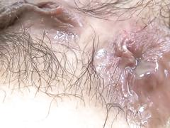 anal, brunette, toys, asian, japanese, anal-creampie, uncensored, hairy-pussy