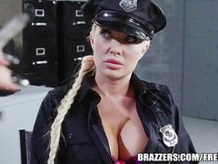 anal, pussy, licking, blonde, ass, girl, shaved, fingering, fuck, uniform, strap, brazzers