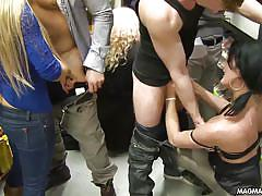 orgasm, blonde, big tits, german, orgy, redhead, public, cumshot, masturbation, blowjob, group sex, brunette, magma film, celine noiret, anita vixen, jenna lovely