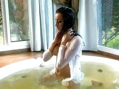 Jade hot playing in jacuzzi - hot boobs pussy ass hd