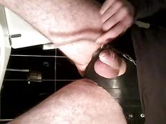 Milk insertion in penis and cum